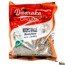 Dwaraka Organic moong whole - 2 lb