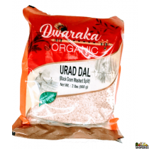 Dwaraka Organic urad dal (White) - 2 lb
