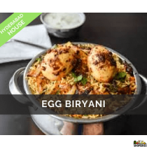 Hyderabad House Egg Biryani