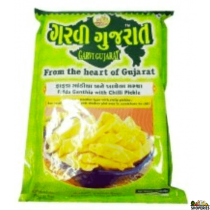 GARVI FAFDA GATHIYA WITH CHILI PICKLE -285gms