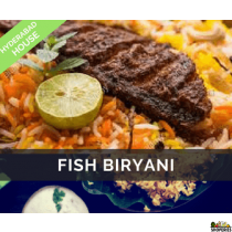 Hyderabad House Fish Biryani