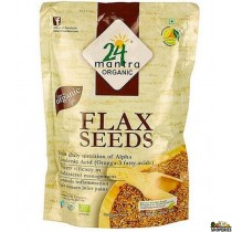 ORGANIC flax seed whole - 7 Oz