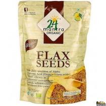 ORGANIC flax seed whole - 7 Oz
