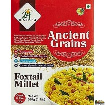 24 Mantra Organic Parboiled Foxtail Millet 500g