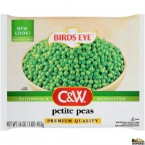 Flavor pack green peas 12 oz