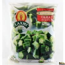 Frozen Cut Okra - 1 lb