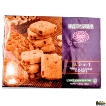 Karachi Bakery Fruit & Cashew Biscuits 400g