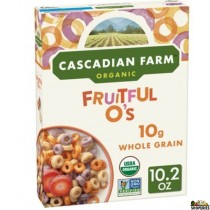 Cascadian Farm Organic Cereal, Fruitful O's