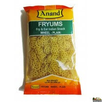 Anand Fryums Wheel Plain 400 Gms (14 OZ)