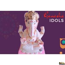 """Ganesha Idol 9"""" Inch"""