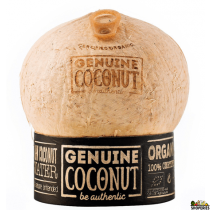 Genuine Organic Coconut for water - 1 count