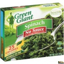 Green giant chopped spinach 9 oz