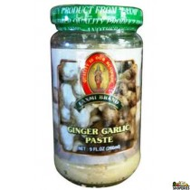 laxmi Ginger Garlic Paste - 8 oz