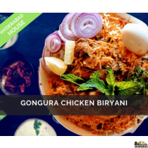 Hyderabad House Gongura Chicken Biryani