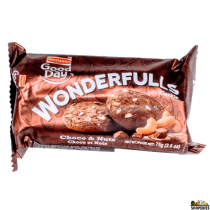 Britannia Good Day wonderfulls Choco and Nuts Biscuits - 75g