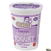 Gopi Fat Free Yogurt - 4 lb