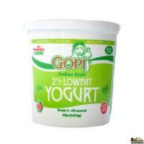 Gopi low fat Yogurt - 4 lb