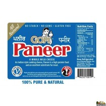 Gopi Paneer Indian cheese - 14 oz