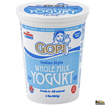Gopi whole milk Yogurt - 2 lb