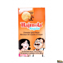 Hajmola Regular Chewable pieces - 120 Tablets