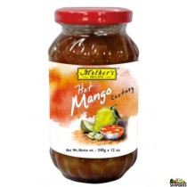 Mothers Hot Mango Chutney 340g