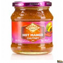Patak Hot Mango Chutney - 12 Oz