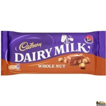 Cadbury Dairy Milk Whole Nut Chocolate bar - 200gm