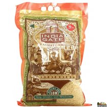 India Gate Golden Sella Basmati Rice - 10 Lb