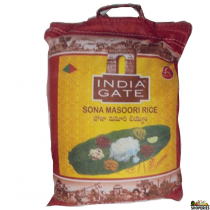 India Gate Sona Masoori Rice - 20 lb
