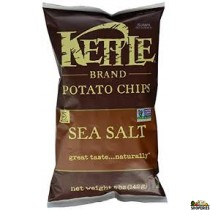 kettle chips with sea salt