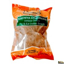 Anand Kichiya Crackers (green chilli) 14 Oz