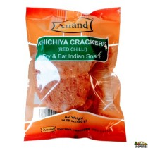 Anand Kichiya Crackers (red chilli) 14 Oz