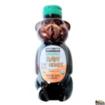 Kirkland Signnature Organic Raw Honey Bears - 24 oz