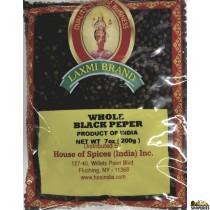 Laxmi whole black pepper - 7 Oz