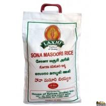 laxmi Sona Masoori Rice - 20 lb