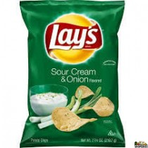 Lays Onion And Sour Cream Family Size