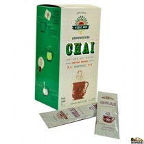 Vedic Mix Lemongrass Chai Latte – Sweetened - 10 servings