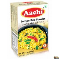 AACHI LEMON RICE POWDER - 7 Oz