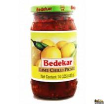 Bedekar lime chilli PICKLE - 400g