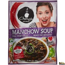 Ching's Secret, Manchow Soup, 55 Gms (3 Count)