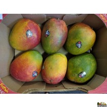 Sweet Large Kent Mangoes - 1 Case (6 count)