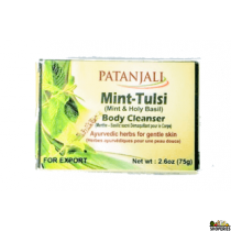 Patanjali Mint Tulsi Body Cleanser - 100g