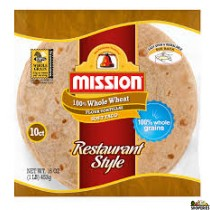 Nisson Whole Wheat Tortilla