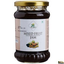 24Mantra Mixed Fruit Jam 350 GM