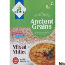 24 Mantra Organic Hulled Mixed Millet 500g