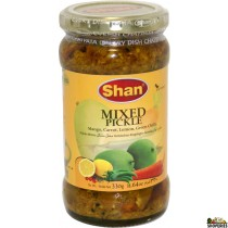 Shan Punjabi Mixed Vegetable Pickle - 300g