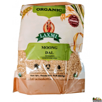 ORGANIC Laxmi Yellow Moong Dal Split - 2 lb
