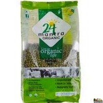 ORGANIC GREEN MOONG DAL WHOLE - 2 lb