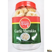 Delight Foods Garlic Murukku - 7 Oz
