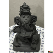 Create Your Own Clay Ganesha/Moist Vashon Gray Clay Block